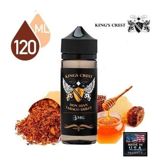 King Crest Don Juan Tabaco Dulce 3mg 120ml