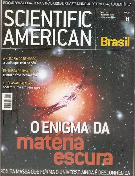 Revista Scientific American Brasil Nº3 Ano 2002 Meteoritos.