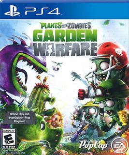 Plantas Vs Zombies Garden Warfare Ps4