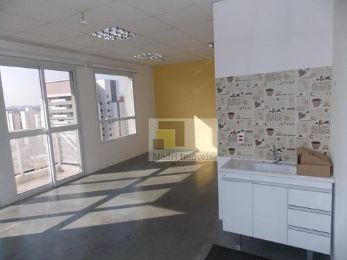 Imagem 1 de 27 de Conjunto Para Alugar, 40 M² Por R$ 1.500,00/mês - Vila Leopoldina - São Paulo/sp - Cj0130