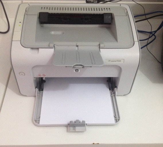 Impressora Laser Hp P1005 Usada Com Garantia Funcionando...
