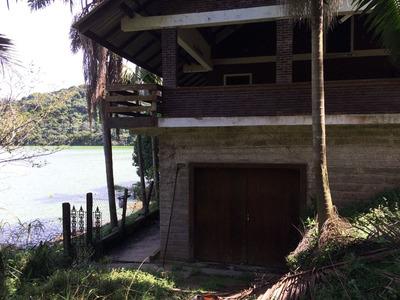 Sitio De Frente Com A Represa Rampa De Barco E Haras