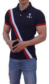 Playeras Polo John Leopard Ajuste Muscle Fit Stretch Trendy