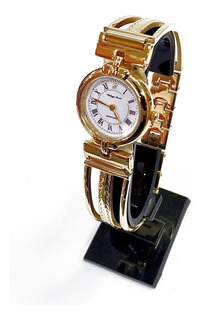 Reloj Extraplano Zafirado Mujer Philippe.a.114a Aro Dorado