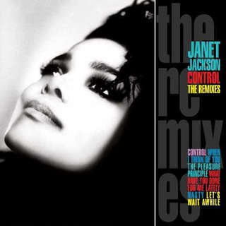 Janet Jackson Control: The Remixes Cd Us Import