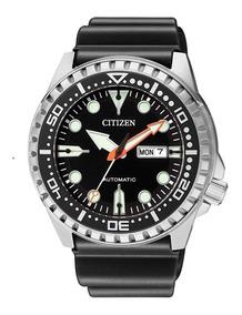 Relógio Citizen Automático Marine Sport Nh8380-15e Preto