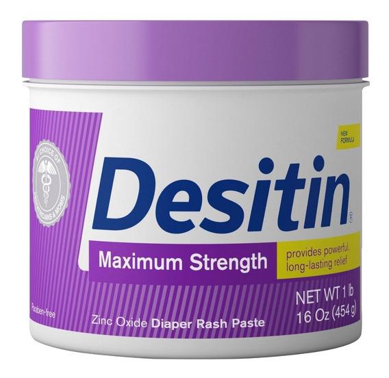 Pomada Desitin Maximum Strength Pote 454g