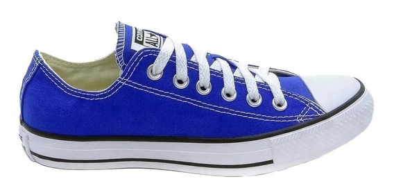 Tênis Converse Al Star Ct Cano Baixo Azul