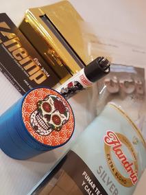 Combo Picador Armador Papel Celulosa Clipper Tabaco Flandria