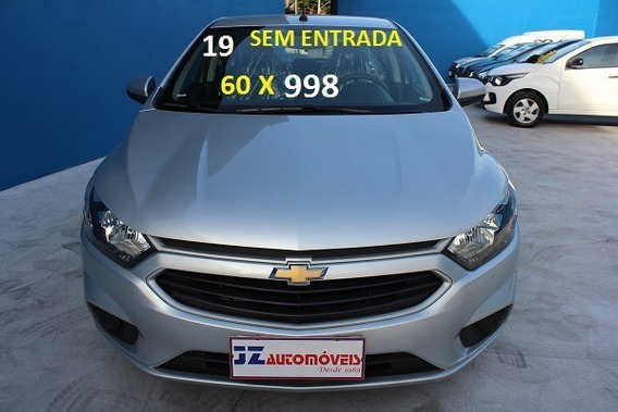 Chevrolet Onix Lt 1.0 Financiamento Zero De Entrada Carro