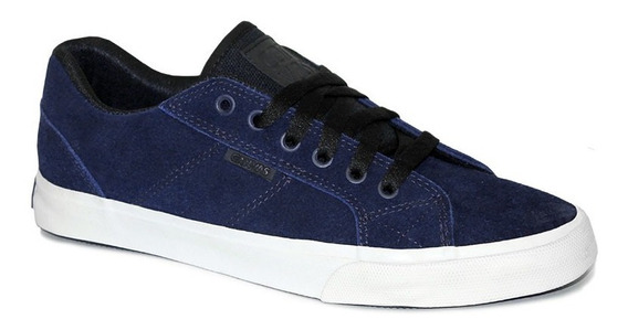 Zapatilla Skate Canvas Drop Vulcanizado B/blanca