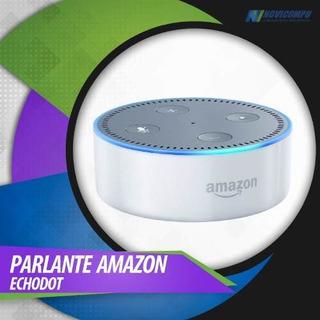Echo Dot 2da Generación Parlante Con Amazon Alexa Blanco Y N