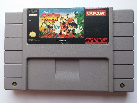 Goof Troop Snes Super Nintendo 100% Original Cód01 Ft Grátis