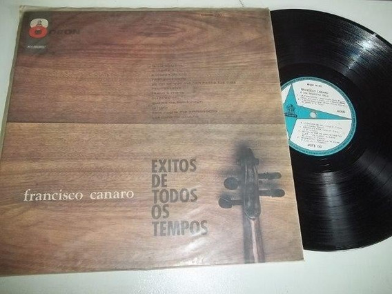 Lp Vinil - Francisco Canaro - Exitos De Todos Os Tempos