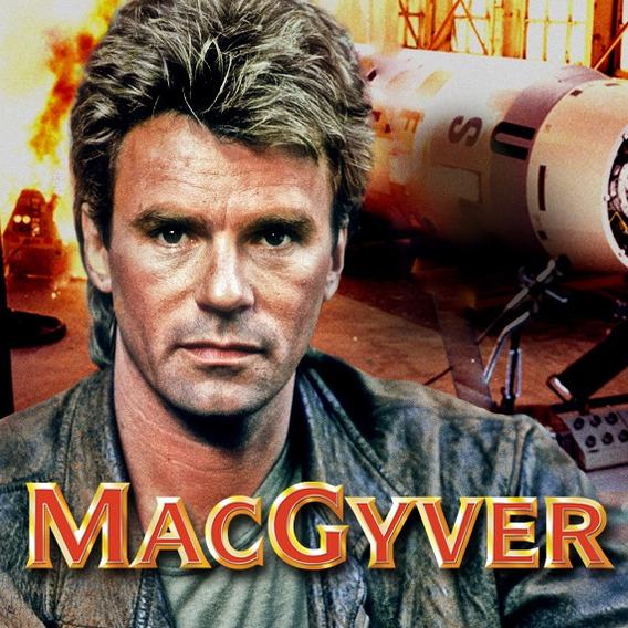 Macgyver Profissão Perigo (1°a 7° Temporada) - Frete Grátis