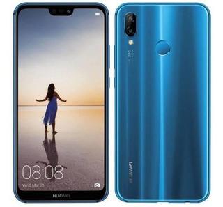 Huawei P20 Lite Azul 32 Gb 4 Ram Dual Cámara Usado 10/10