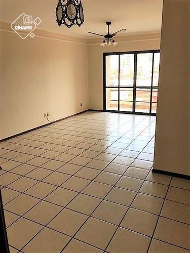 Apartamento Com 3 Dormitórios À Venda, Jardim Paulista - Ribeirão Preto/sp - Ap2322