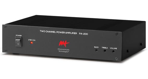 Aat Pa 200 Amplificador Integrado Pa 200 120 W Rms Bivolt Nf