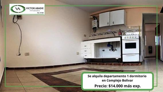 Departamento De 1 Dormitorio En Complejo Bolivar