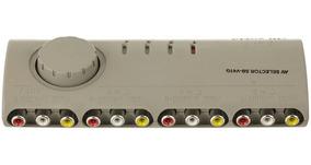 Chave Seletora Av Rca Star Cable 4 Entradas X 1 Saída