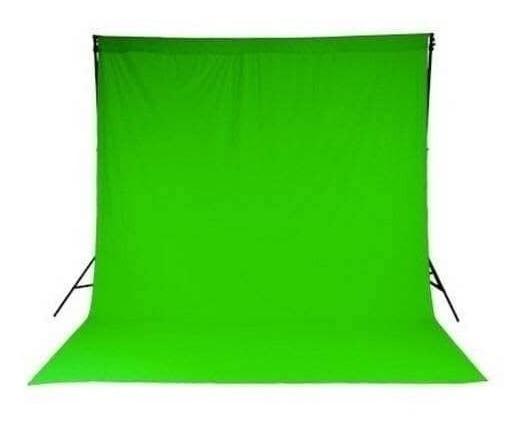Tecido Chroma Key Verde 4m X 1,80m - Gravação Estudio