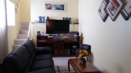 Sobrado Com 3 Dormitórios À Venda, 225 M² Por R$ 510.000,00 - Jardim Santa Lídia - Guarulhos/sp - Ai6761
