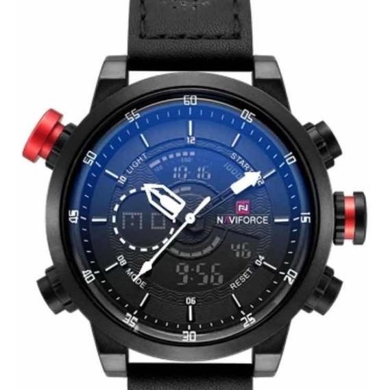 Relógio Masculino Naviforce 9081 Com Caixa Original