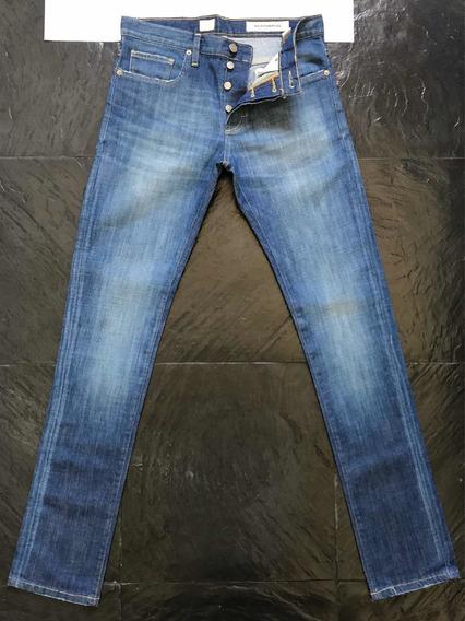 Jean Bensimon Ultra Slim Fit Chupin Azul Talle 28 Nuevo