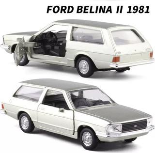 Ford Belina 2 1981 Carros Carrinho Miniatura Coleção 1.43