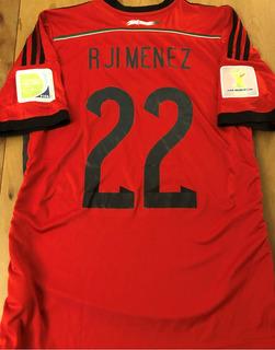 Camisa Do México Copa 2014 Autografada Todo Elenco