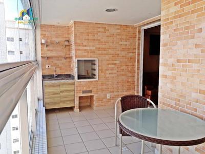 Apartamento Residencial Para Locação, Vila Guilhermina, Praia Grande. - Ap2243
