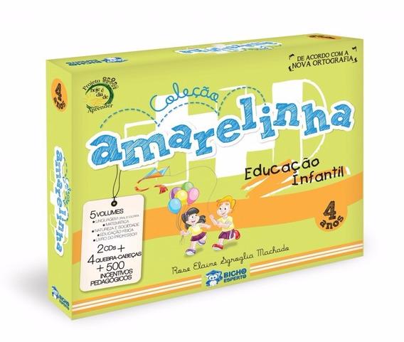 Amarelinha Educação Infantil 4 Anos