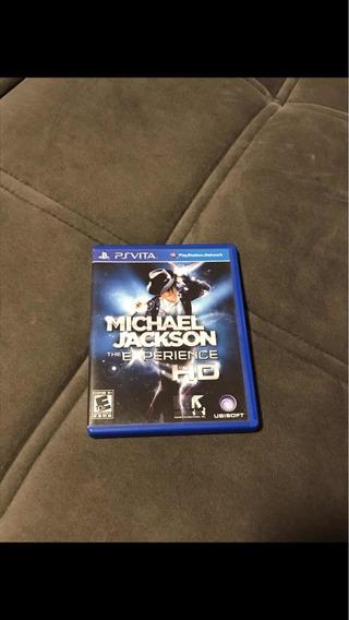 Ps Vita Michael Jackson-the Experience Mídia Física