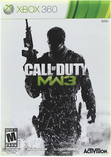 Call Of Duty: Modern Warfare 3 Xbox 360 Nuevo Y Sellado