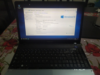 Notebook Samsung I3+6gb Ram+500gb Hdd