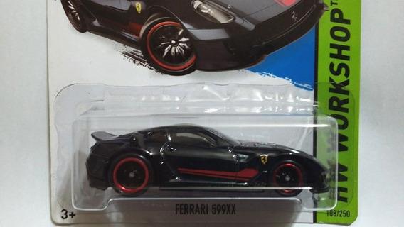 Hot Wheels Ferrari 599xx Super T-hunt Super Th 2015