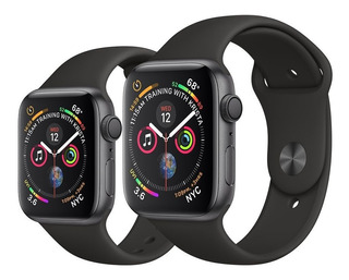 Apple Watch S5 40mm Cinza Al Blk Sp Band Gps A2092
