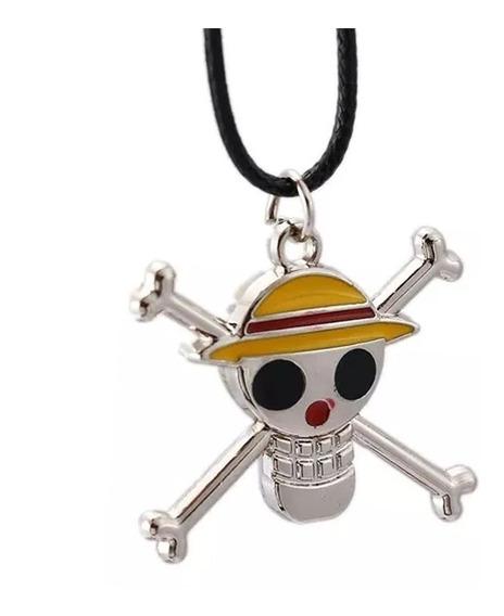Luffy One Piece Collar Envio Gratis One Piece Paja Monkey D