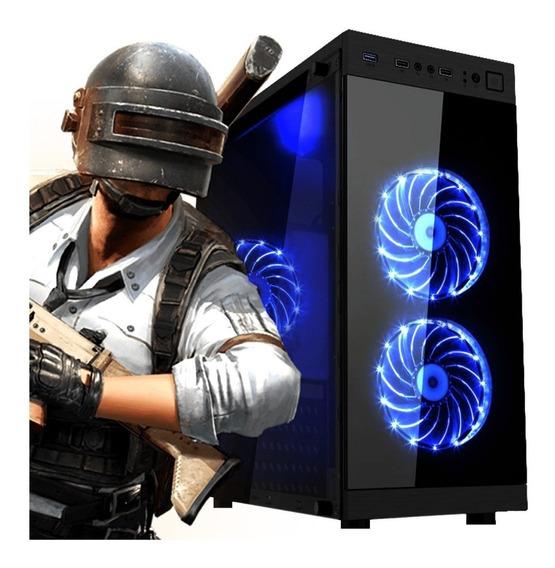 Pc Gamer Intel Core I7 Rx 570 4gb Hd 500gb + Mouse Led!!