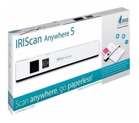 Scanner Iriscan Anywhere 5 Branco