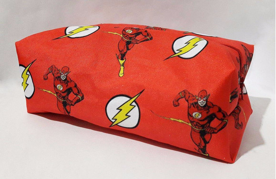 Cartuchera Liga De La Justicia Flash Comic Dc Super Heroe