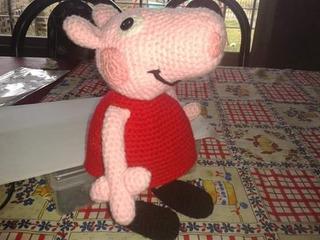 Piwi Creaciones - 💖 #AMIGURUMI PEPPA PIG CON OSITO ... | 240x320