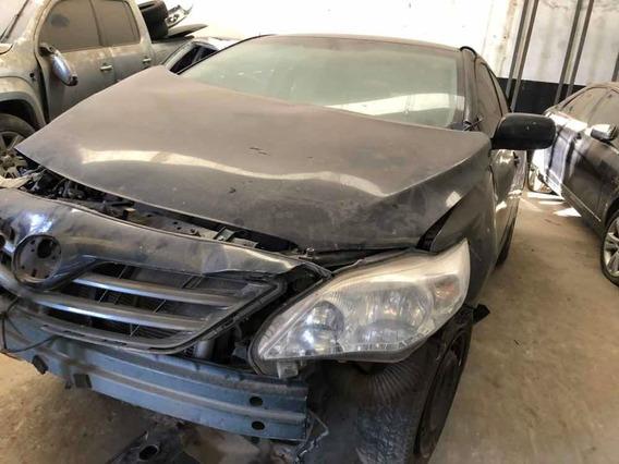 Toyota Corolla Xei 1.8 2013 Chocado Dado De Baja Airbag Sano