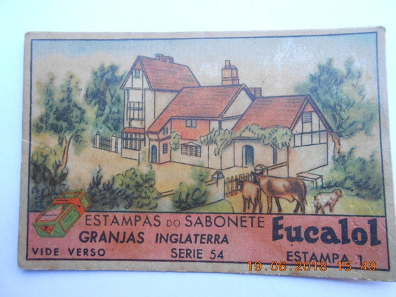 Estampa Sabonete Eucalol - Granjas Inglaterra