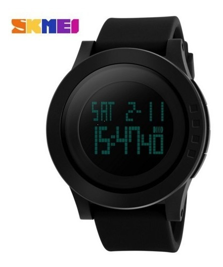 Relógio Skmei S Snock Led Digital Preto Mega
