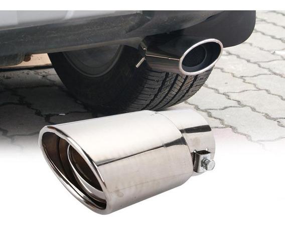 Ponteira Escapamento Inox Para Carros Esportiva Som Turbo