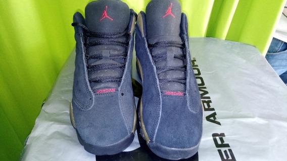 Air Jordan Xiii Retro Olive Black True Red Us3y/22cm