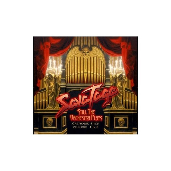 Savatage Still The Orchestra Plays Germany Import Cd X 2