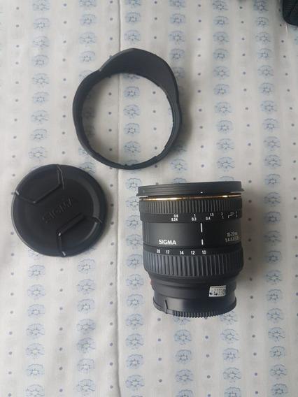 Lente Ex Sigma 10-20mm F4-5.6 Dc Hsm/ Sony