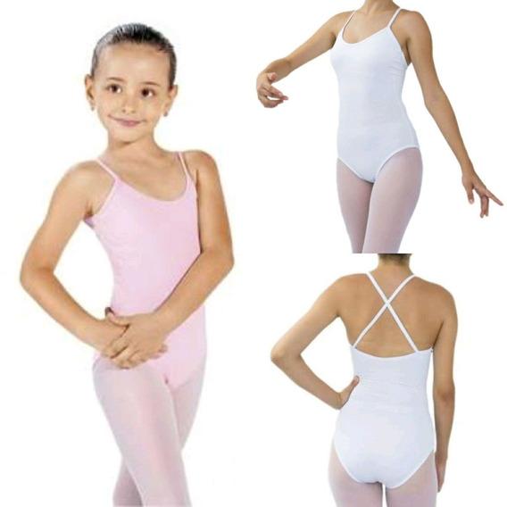 Collant Alcinha - Ballet Infantil / Body / Balé